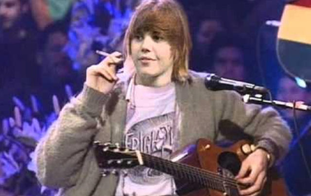 Unas frases de Kurt Cobain Biebercobain