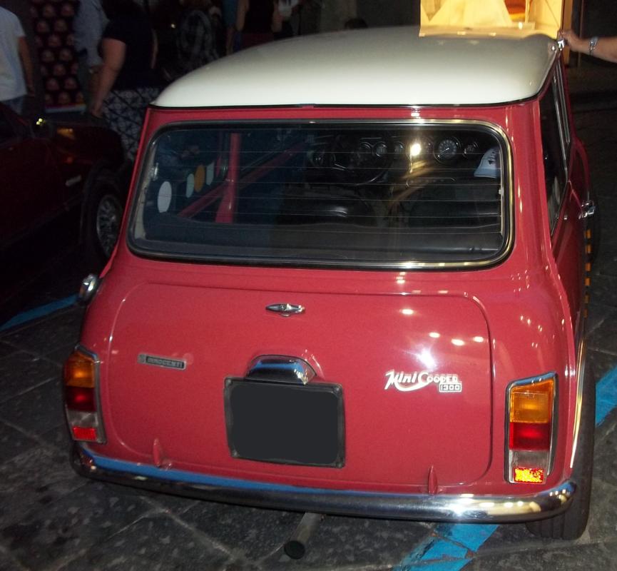 Mostra auto a Giarre (CT) 02/06/2017 Innocenti_mini_1300_65cv