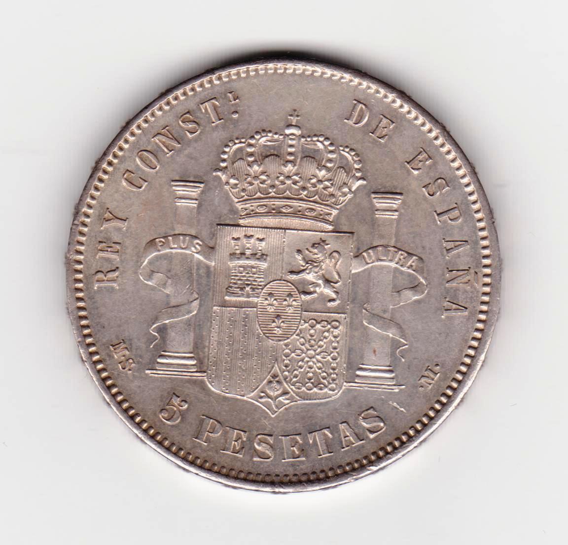 5 pesetas 1885*87 MSM 5_PESETAS_1885_MSM_87_001