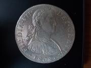 8 Reales 1.808. Fernando VII. Méjico. Busto imaginario DSCN1247