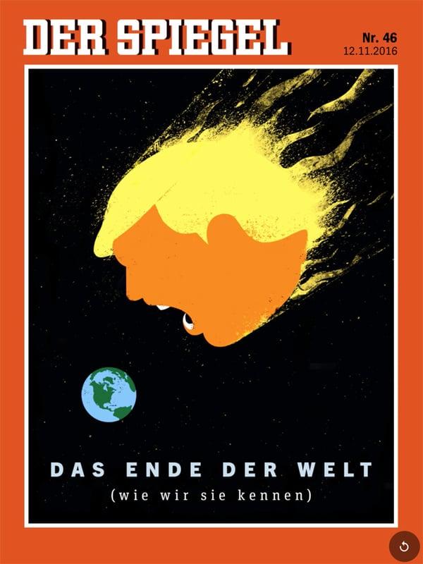 Donald Trump – Vorspiel, Entwicklung, Inauguration, Spiel Spagel_46