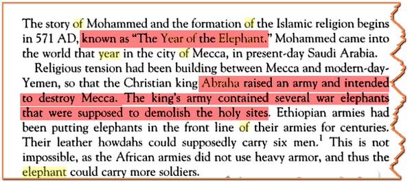 Variole Arabique autre preuve Historique et Scientifique War_elephant1