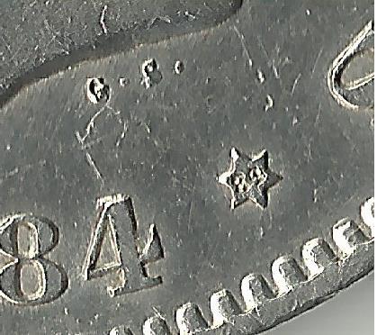 5 pesetas 1884 *18*84. Alfonso -XII. 1884_84