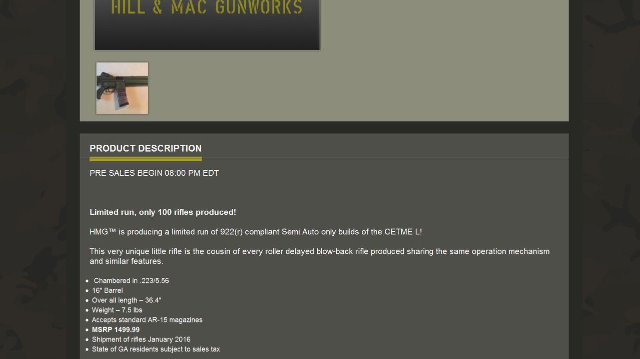 Comercialización CETME L en USA. Solo 100 unidades. Screenshot_417