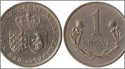 GROENLANDIA; 1 Krone 1964 Groenlandia_10a_1_Krone_1964