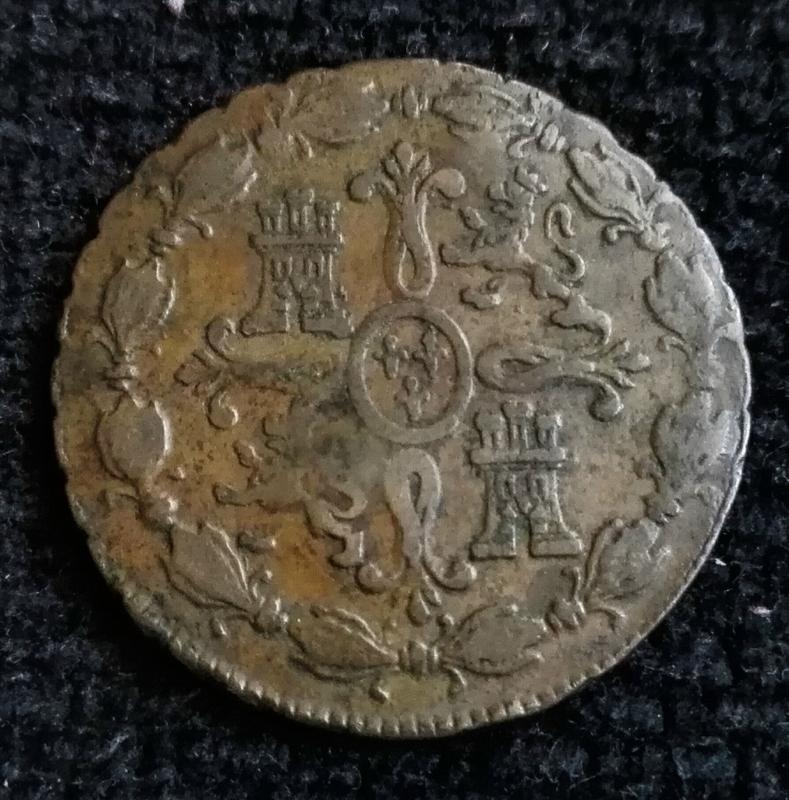 8 maravedís 1782, Segovia, Carlos III IMG_20170730_170259