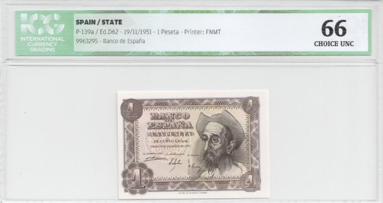 Colección de billetes españoles, sin serie o serie A de Sefcor 51_anversp