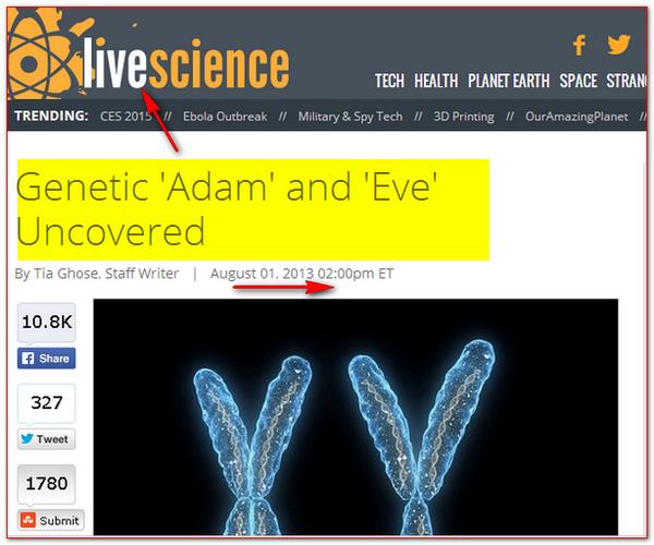 Evolution n'a rien de scientifique Adam_eve