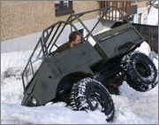 petit test sur neige Unimog