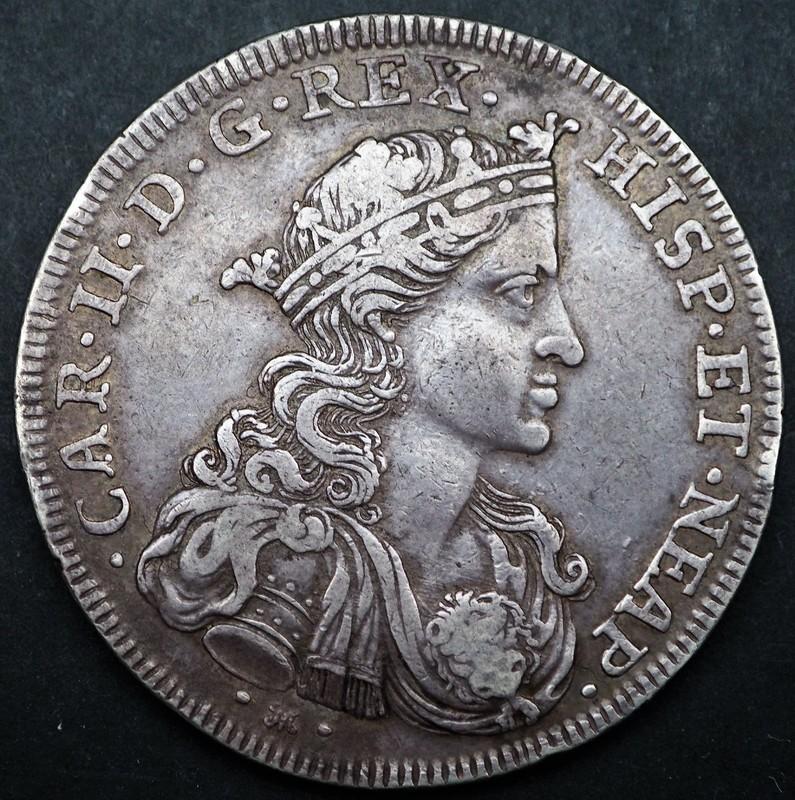 Ducado Carlos II Nápoles 1693. P2010286