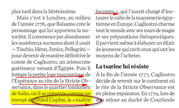 Francs-maçons Agents du Dajjal ( anti christ) : G:Grand Copte Image