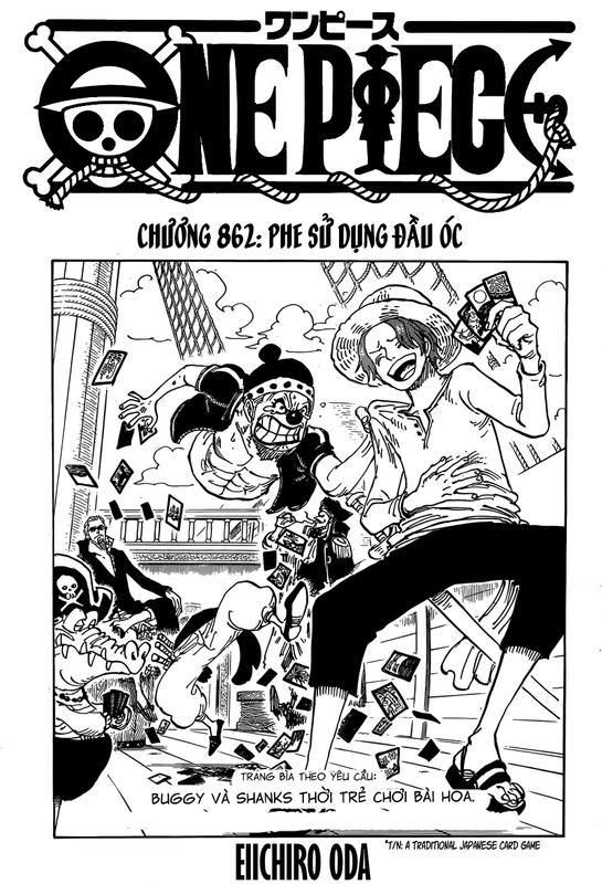 One Piece Chapter 862: Phe sử dụng đầu óc 01-_1