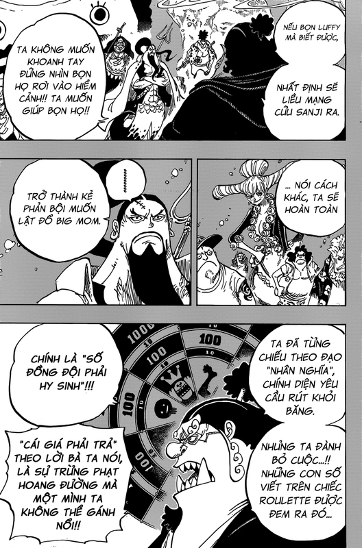One Piece Chapter 860: Bữa tiệc lúc 10:00 Image