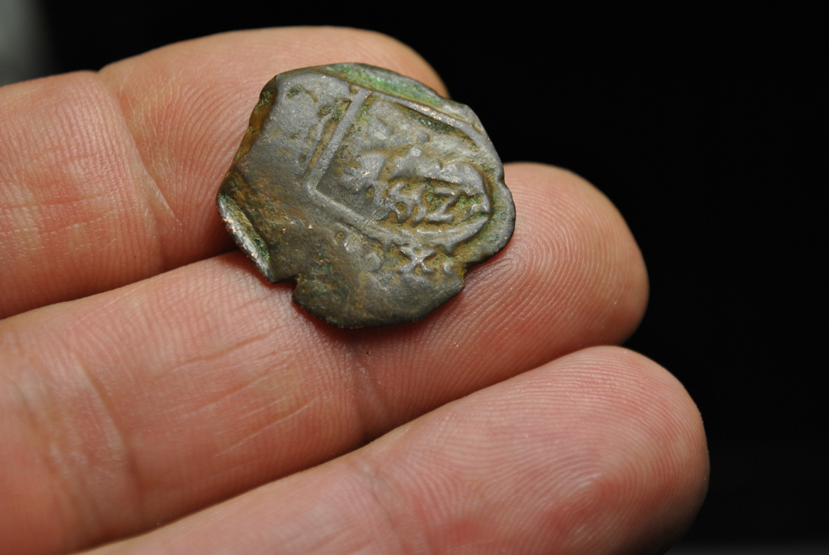 8 maravedis de Felipe iii ó iv resellada ¿ceca nueva ó falsa ? DSC_7521