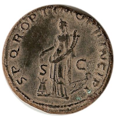 As de Domiciano. Minerva estante a dcha. Ceca Roma. Sin_t_tulo-1
