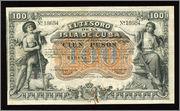 Cuba 200 pesos 1891 100_Cuban_pesos