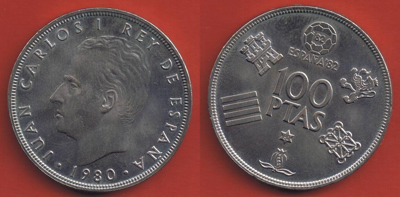 100 pesetas 1980 (*19*80). Juan Carlos I. Mundial 82 100_pesetas_1980_Juan_Carlos_I