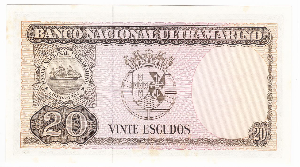 20 Escudos, 1967 Timor_20_escudos_1967_R