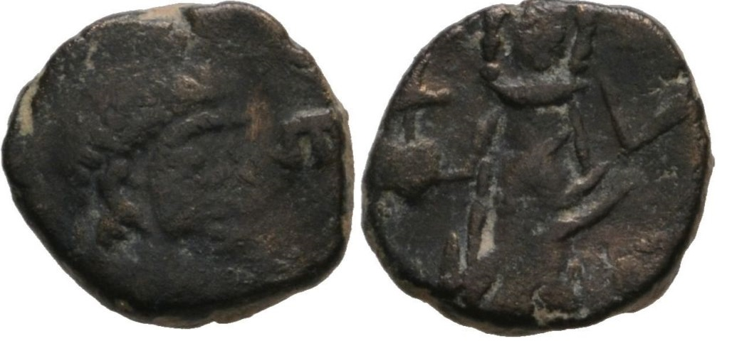 Nummus de León I y Verina. Leon_i_y_verina