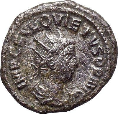 Antoninianos de Macriano II y Quieto QUIETUS_ROMAE_AETERNAE_ANV