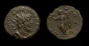 Antoniniano de Tetrico I. COMES AVG. Victoria estante a izq. Ceca Trier. Image