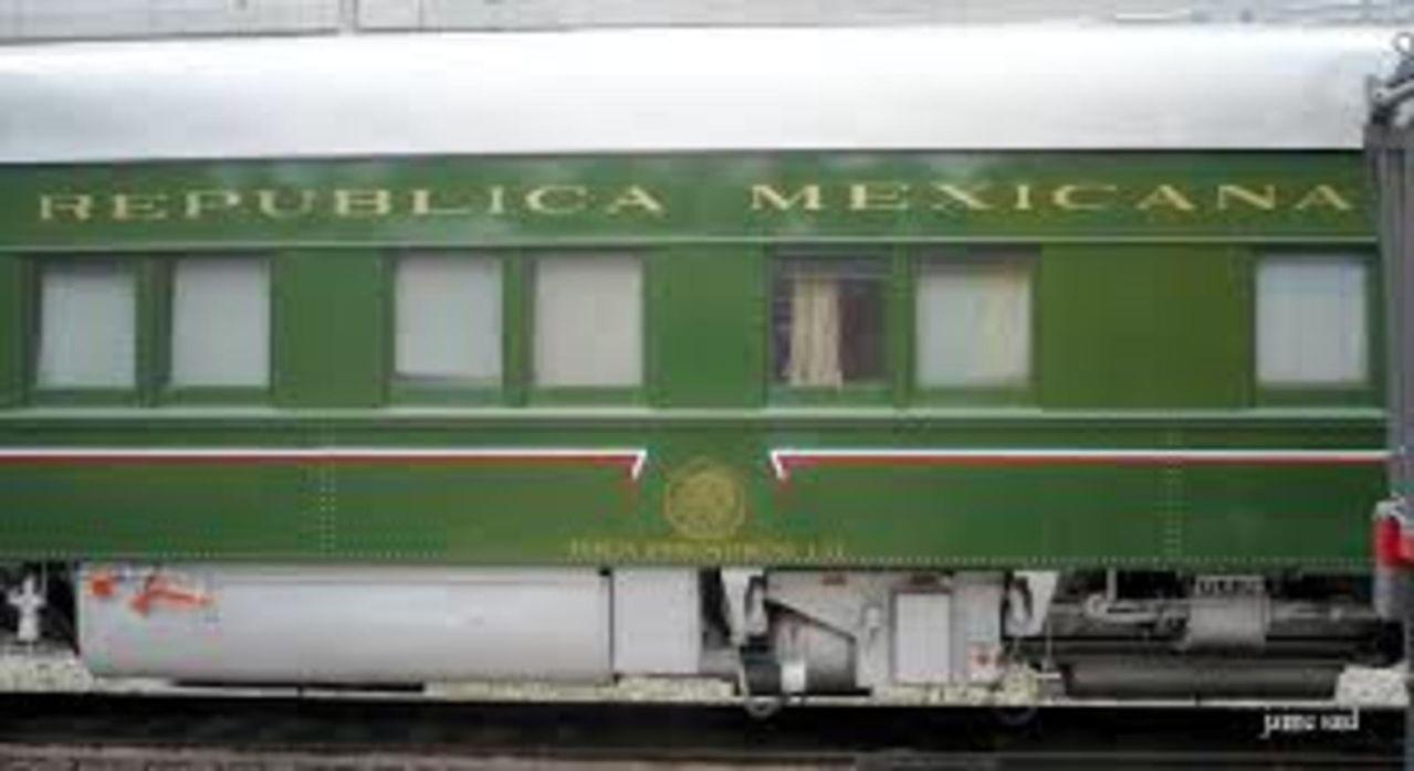 Tren oficial  EL OLIVO- medio histórico de servicio a los Presidentes en turno  IMAGENDELVAGONOFICIAL