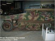 Немецкий средний бронетранспортер SdKfz 251/7  Ausf D,  Musee des Blindes, Saumur, France 251_7_Saumur_160