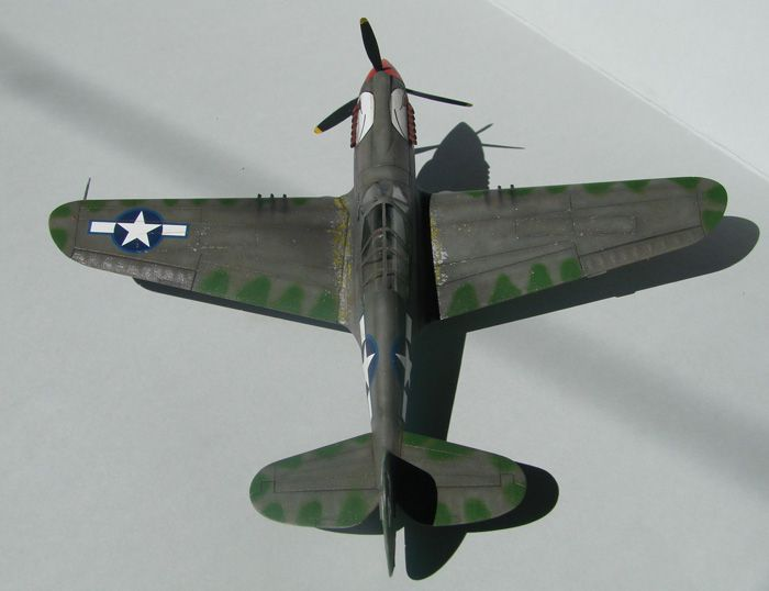 P-40N(rebuild), Hasegawa, 1/72 DSC03749