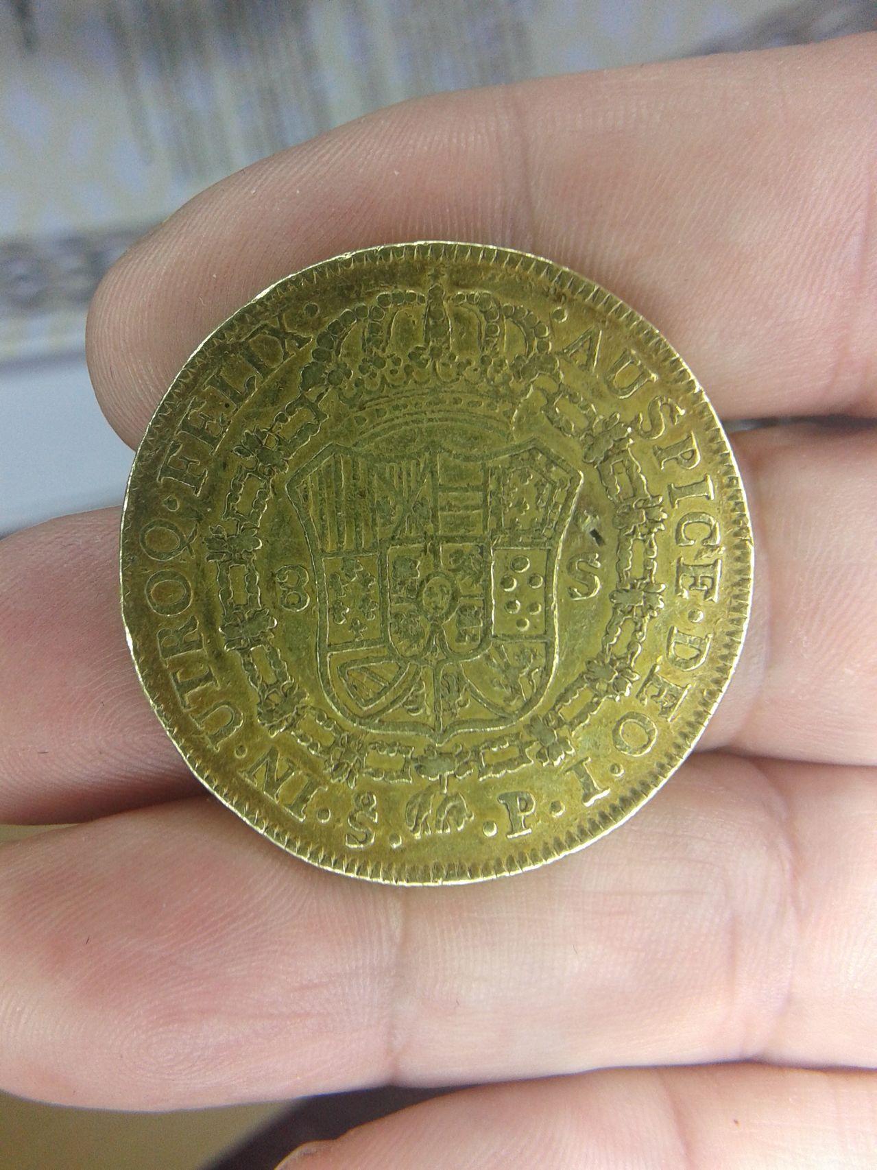 8 escudos 1806 CAROL IIII 8_escudos_reverso