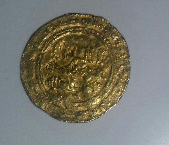 Dinar de Yahyá   412-413 y 416-417, califato de Cordoba. IMG_20150930_WA0003