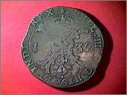 FELIPE IV 1 Patagon año 1632 Bruselas   35_20