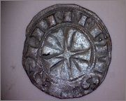 Dinero de Alfonso VI (1072-1109) de Toledo 349b