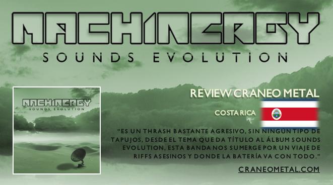 "MACHINERGY ""Sounds Evolution"" 2014 Review_Craneo_Metal_Costa_Rica"