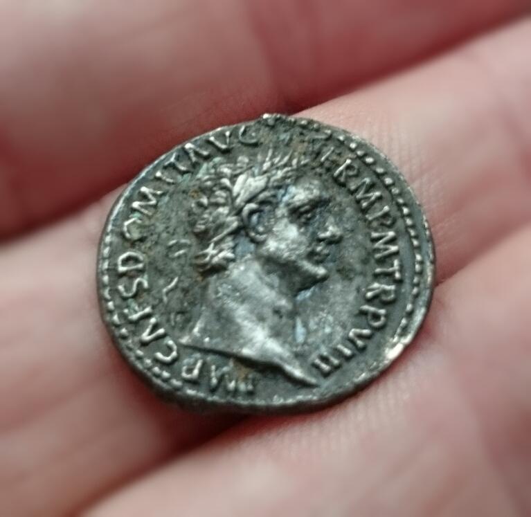 Denario de Domiciano. IMP XVII COS XIIII CENS P P P. Minerva. Roma. DSC_0477