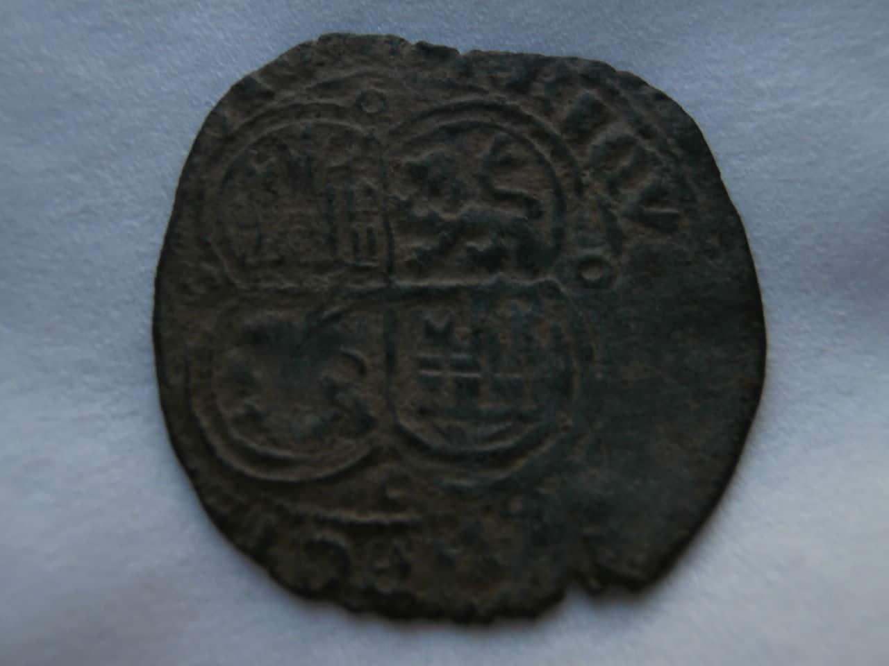 Real de Vellón de  Enrique II de Castilla 1369-1379  P1200147