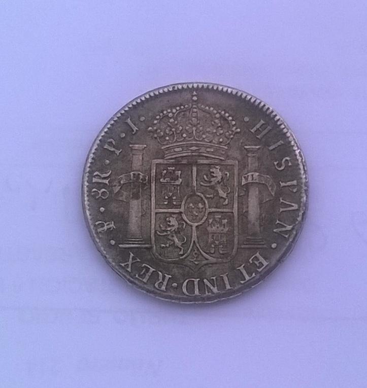 8 reales 1820 Fernando VII, Potosí WP_20141122_017