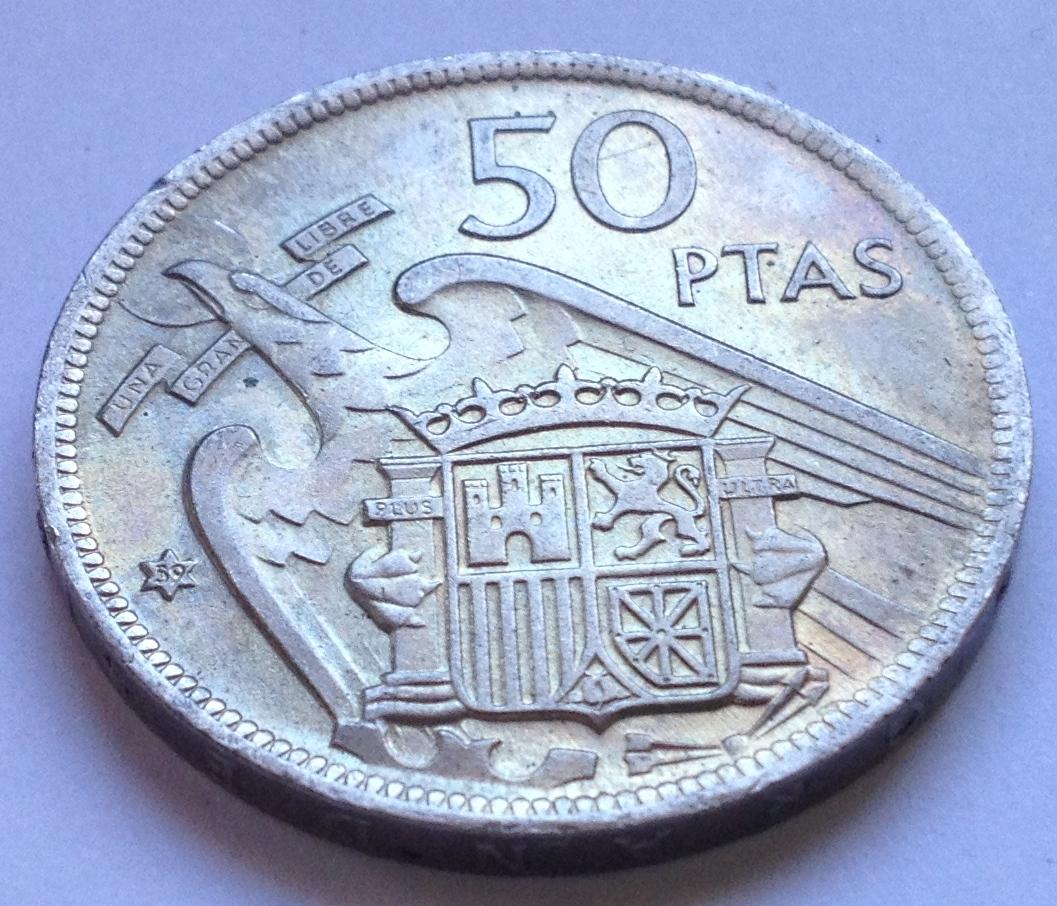 50 pesetas 1957 *59  IMG_7037