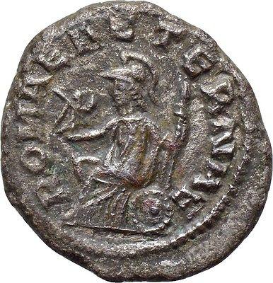 Antoninianos de Macriano II y Quieto QUIETUS_ROMAE_AETERNAE_REV