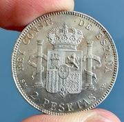 2 pesetas 1905. Alfonso XIII IMG_4114