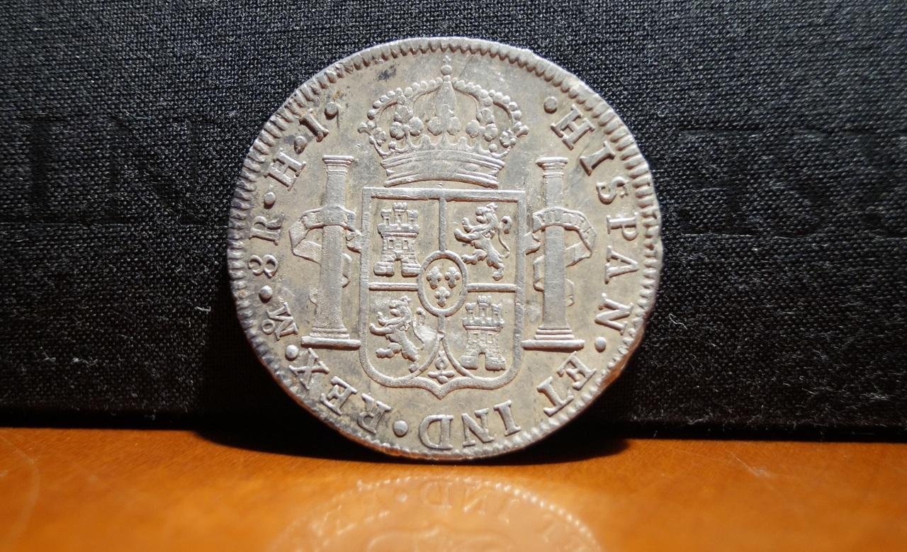 8 reales 1809. Fernando VII. Méjico  DSC02835