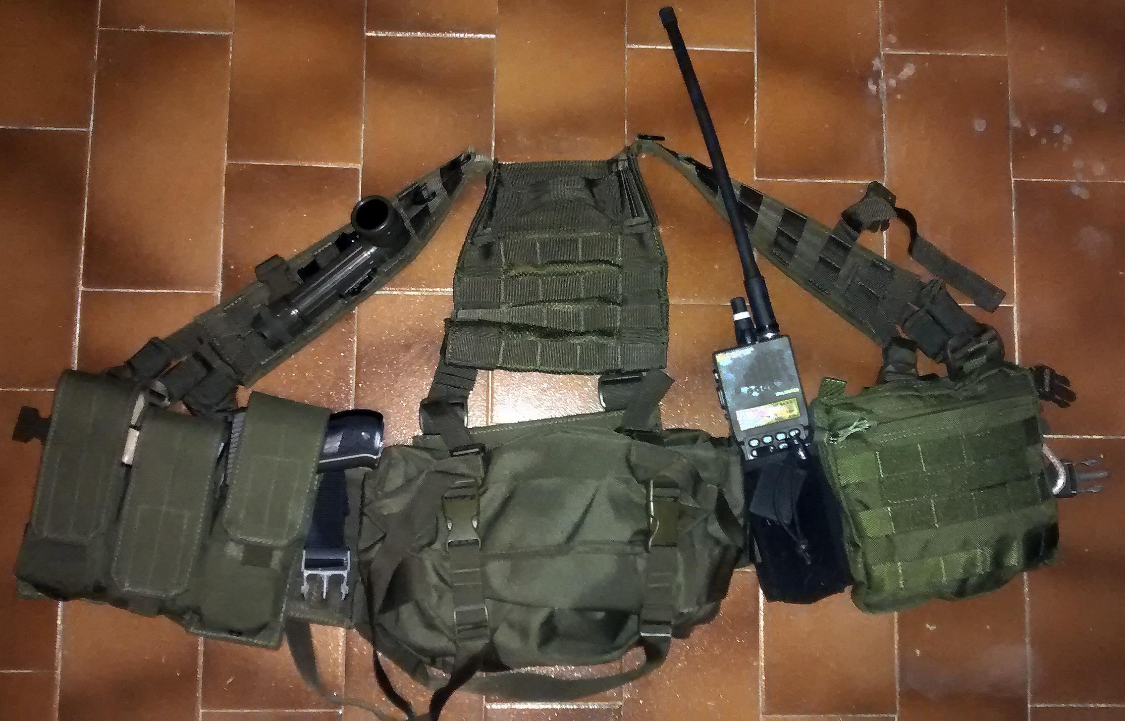 [REVIEW] Chalecos GREENSIDE + comparte tu configuración LBE