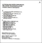 Milance Radosavljevic - Diskografija R_25885129