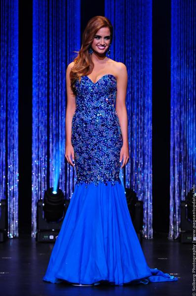 Haley O'Brian (MINNESOTA 2014) Gown