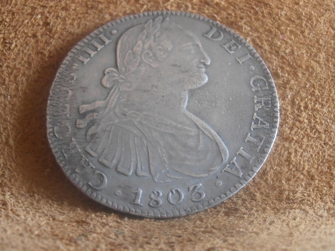8 Reales Carlos IV 1803. Méjico P9020002