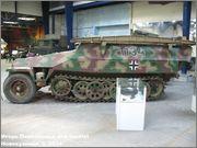 Немецкий средний бронетранспортер SdKfz 251/7  Ausf D,  Musee des Blindes, Saumur, France 251_7_Saumur_161