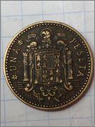 peseta 1947, estrella 46 Peseta_1947_46_cruz