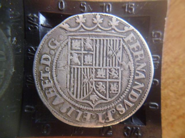 I aniversario numismario: 1 real a nombre de los RR.CC Toledo  P1100935