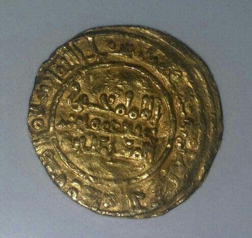 Dinar de Yahyá   412-413 y 416-417, califato de Cordoba. IMG_20150930_WA0005