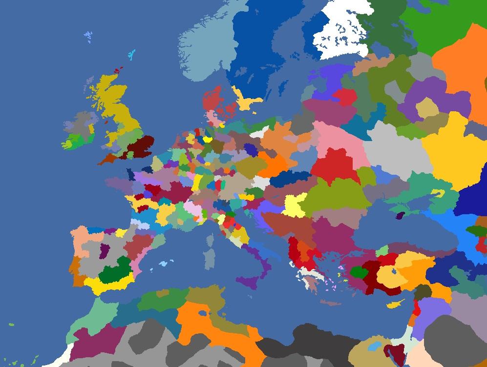 "MP-""Europa Divisa"" 1482"