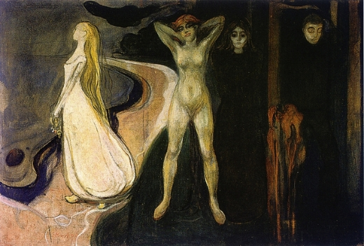 TRES MUJERES... Munch